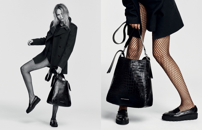 An image from Kurt Geiger's fall-winter 2016 campaign