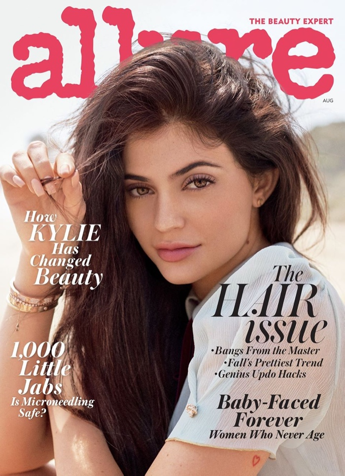 Kylie Jenner on Allure Magazine August 2016 Cover