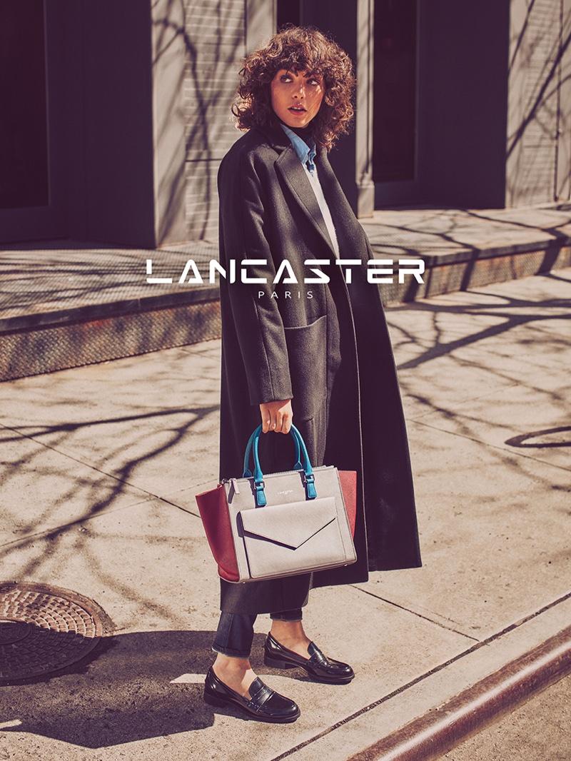 Steffy Argelich stars in Lancaster Paris' fall-winter 2016 campaign