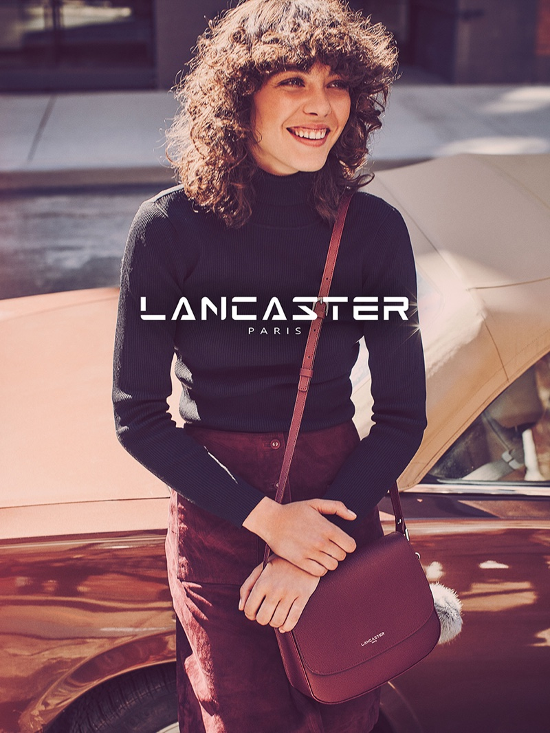 Lancaster Paris channels 1970's style for fall 2016 advertising campaign