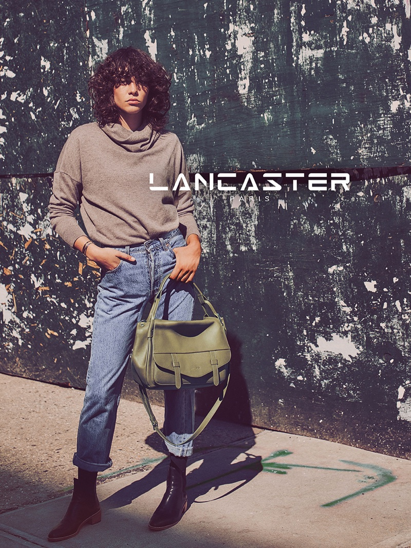 An image from Lancaster Paris' fall 2016 campaign