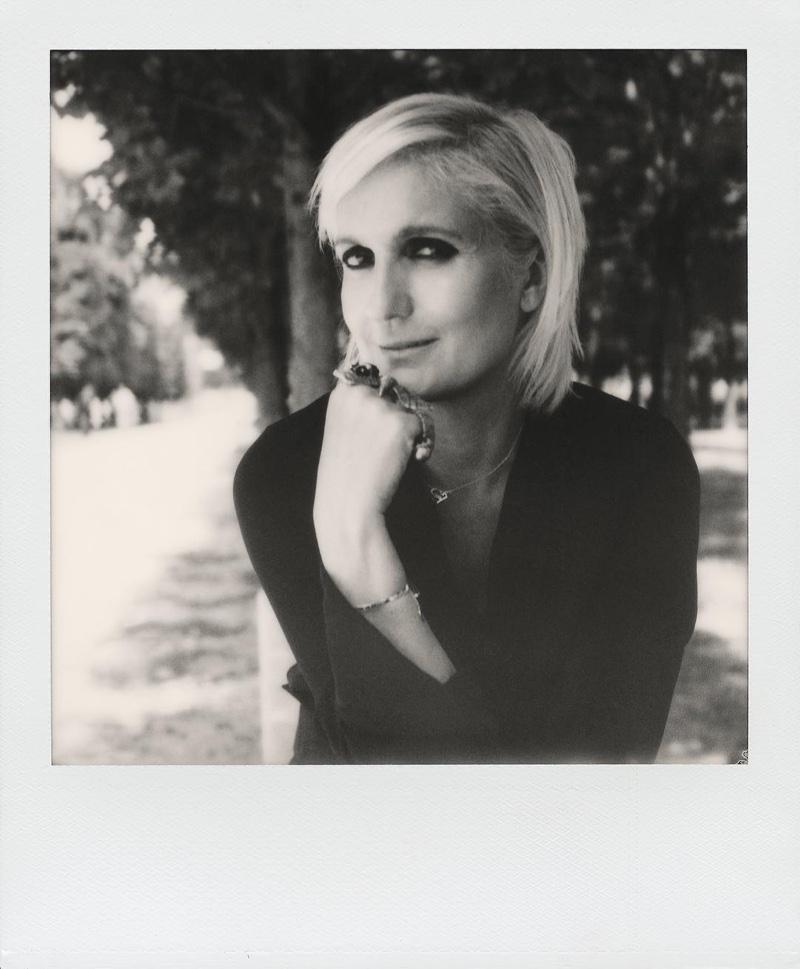 Maria Grazia Chiuri, Dior's new artistic director. Photo: Instagram/Dior