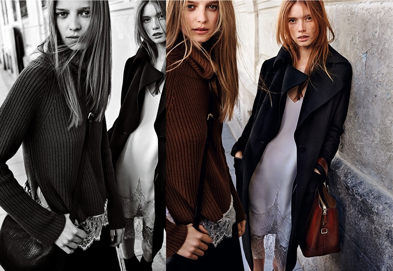 Massimo Dutti Embraces Luxe Outerwear in Fall 2016 Campaign