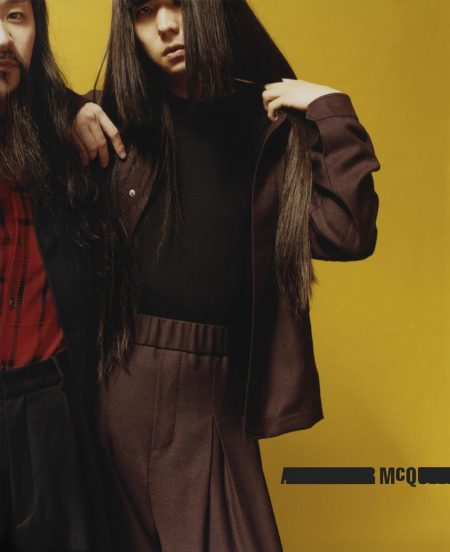 McQ by Alexander McQueen Brings Rock Vibes to Fall '16 Campaign