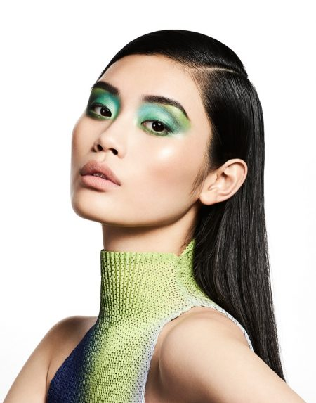 Ming Xi Wears Inspiring Summer Makeup Looks for Hello! Fashion