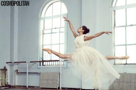 Ballerina Misty Copeland Dances in Style for Cosmopolitan