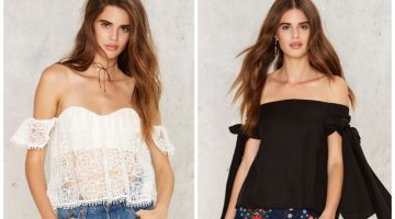 Skin Is In: 8 Off-the-Shoulders Top