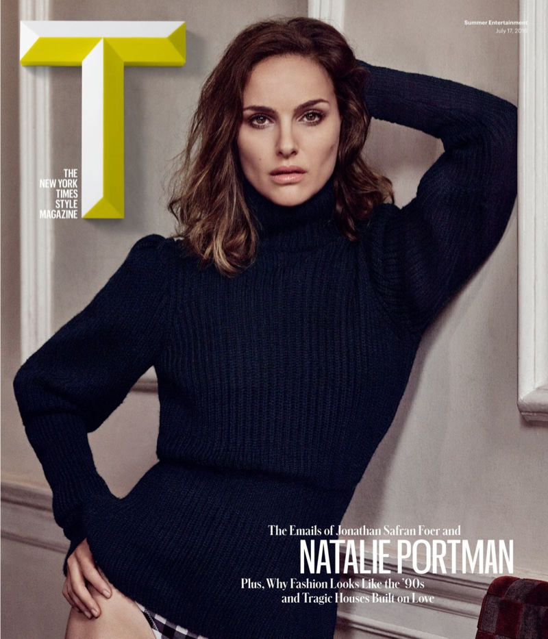 Natalie Portman on T Magazine Summer 2016 Cover