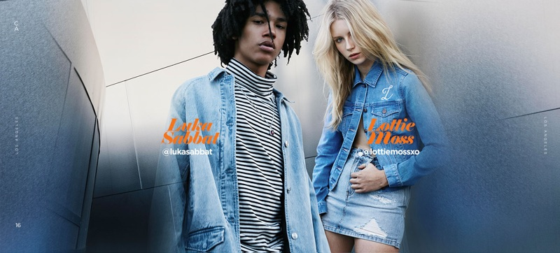 PacSun embraces denim styles for its new campaign