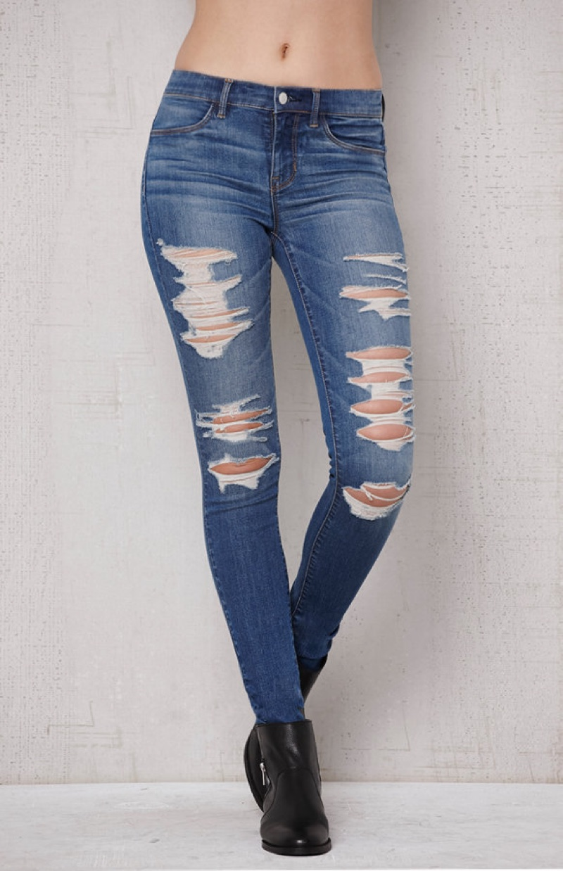 PacSun Oregon Blue Ripped Dreamy Jeggings