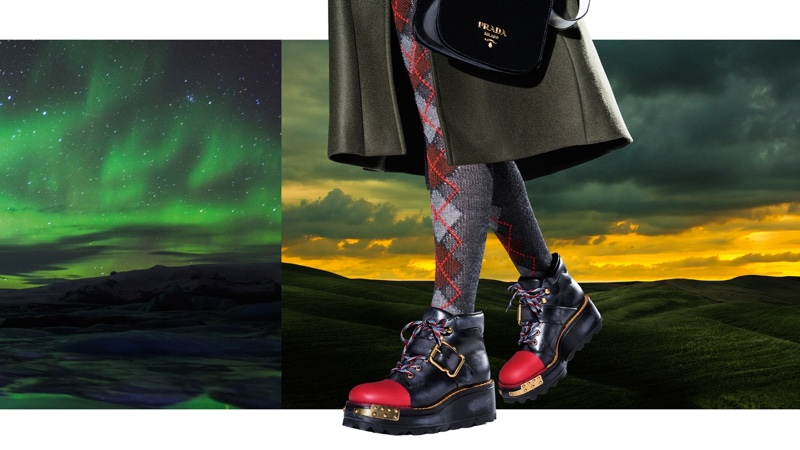 Steven Meisel photographs Prada's fall-winter 2016 advertising campaign