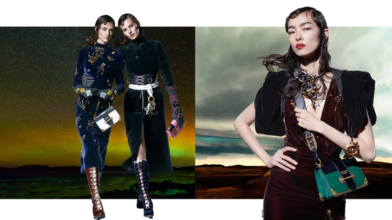 Prada features nautical chic styles in fall 2016 campaign
