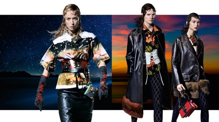 Prada's Surreal Fall 2016 Campaign Stars 27 Models