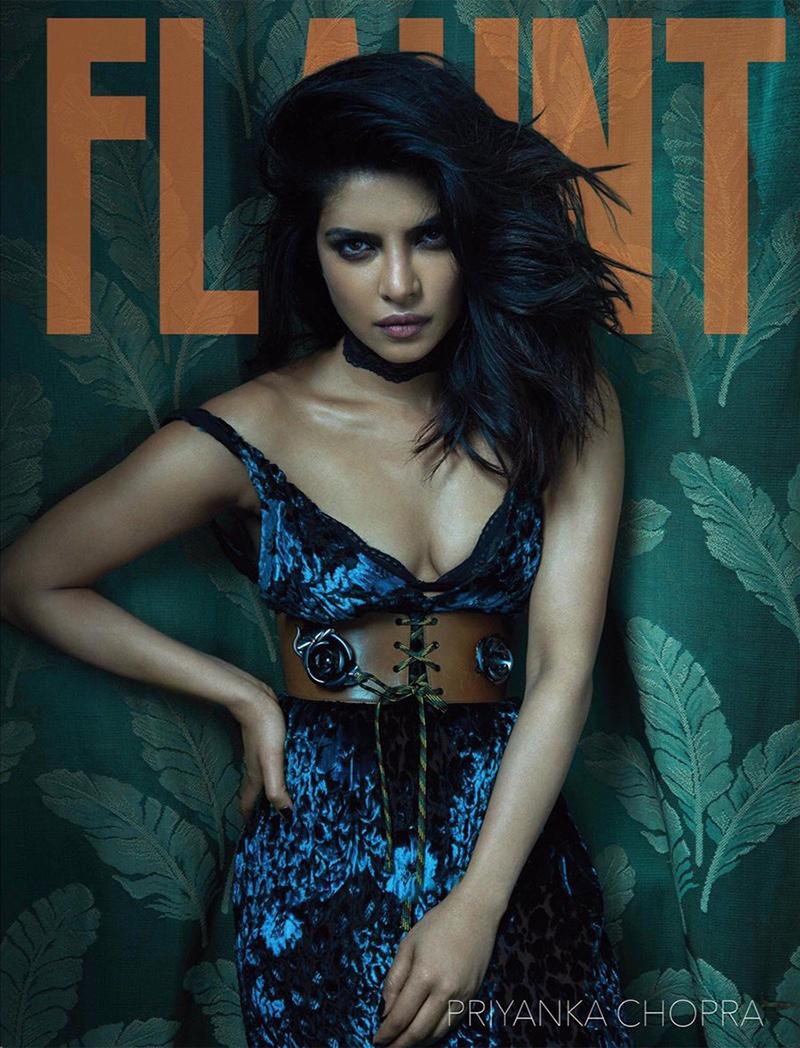 Priyanka Chopra on Flaunt Magazine Cover