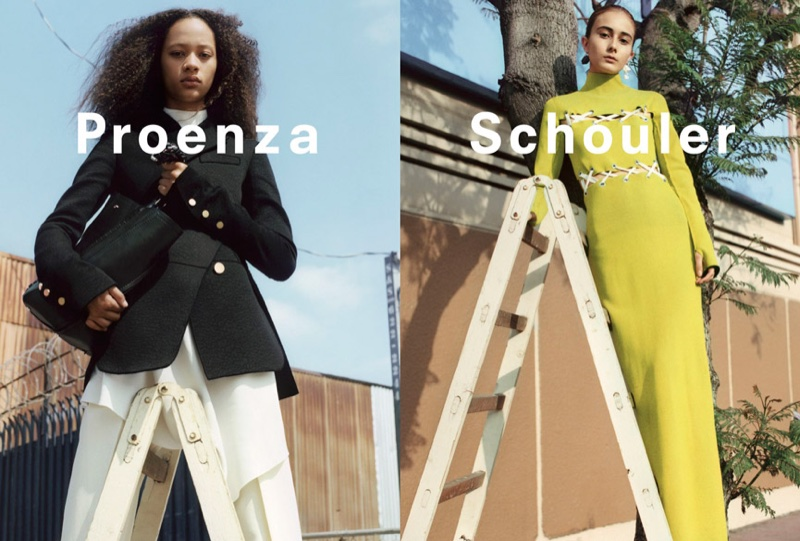 An image from Proenza Schouler's fall-winter 2016 campaign