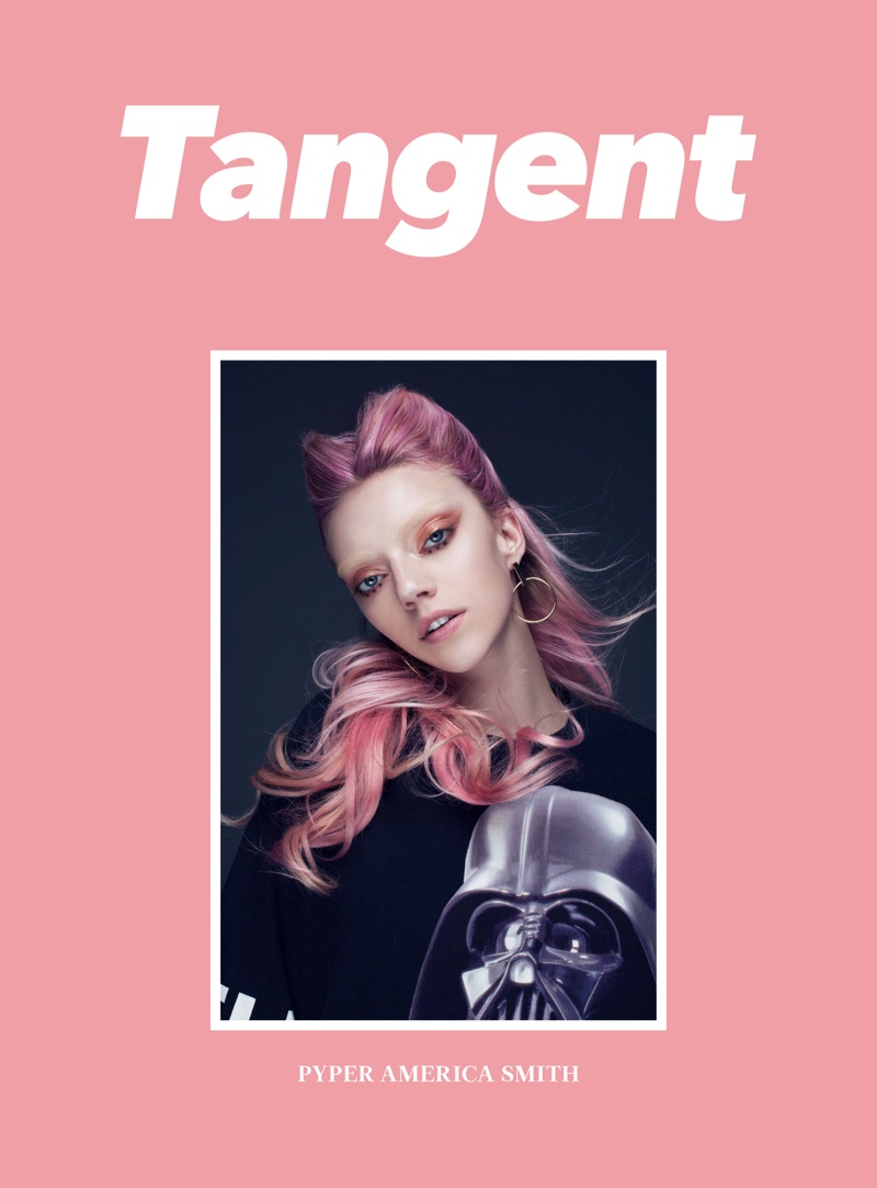 Pyper America Smith on Tangent Magazine Cover