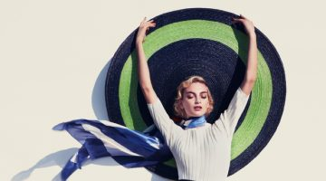 Rose Smith Models Nautical Chic Fashions for How to Spend It