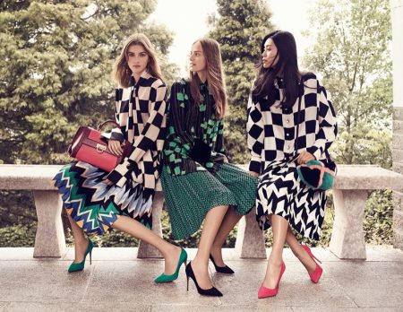 Salvatore Ferragamo Sets Fall 2016 Campaign in Italian Villa