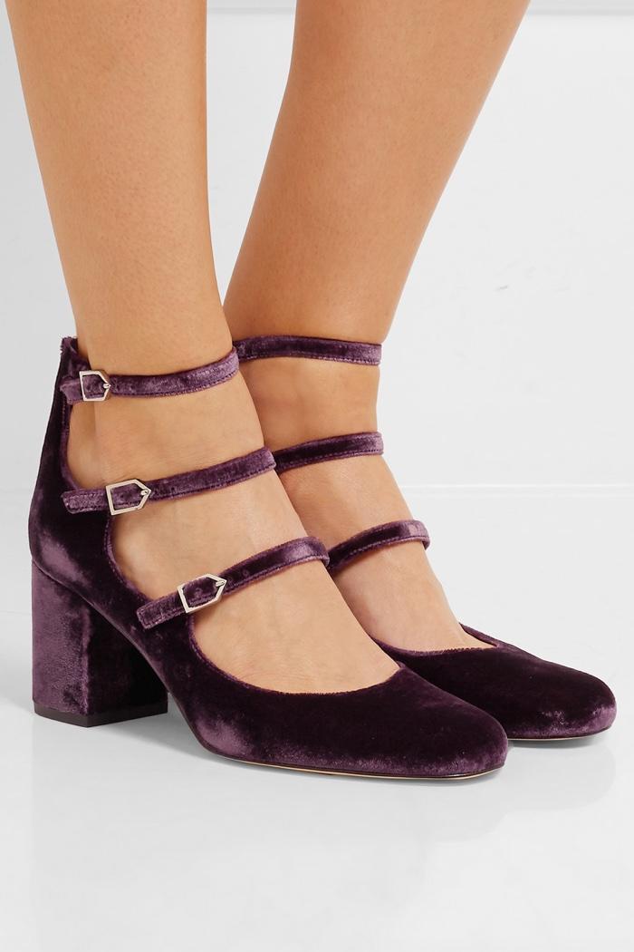 f3262fbb371c93 Sam Edelman Velvet Shoes Net-a-Porter Exclusive Shop