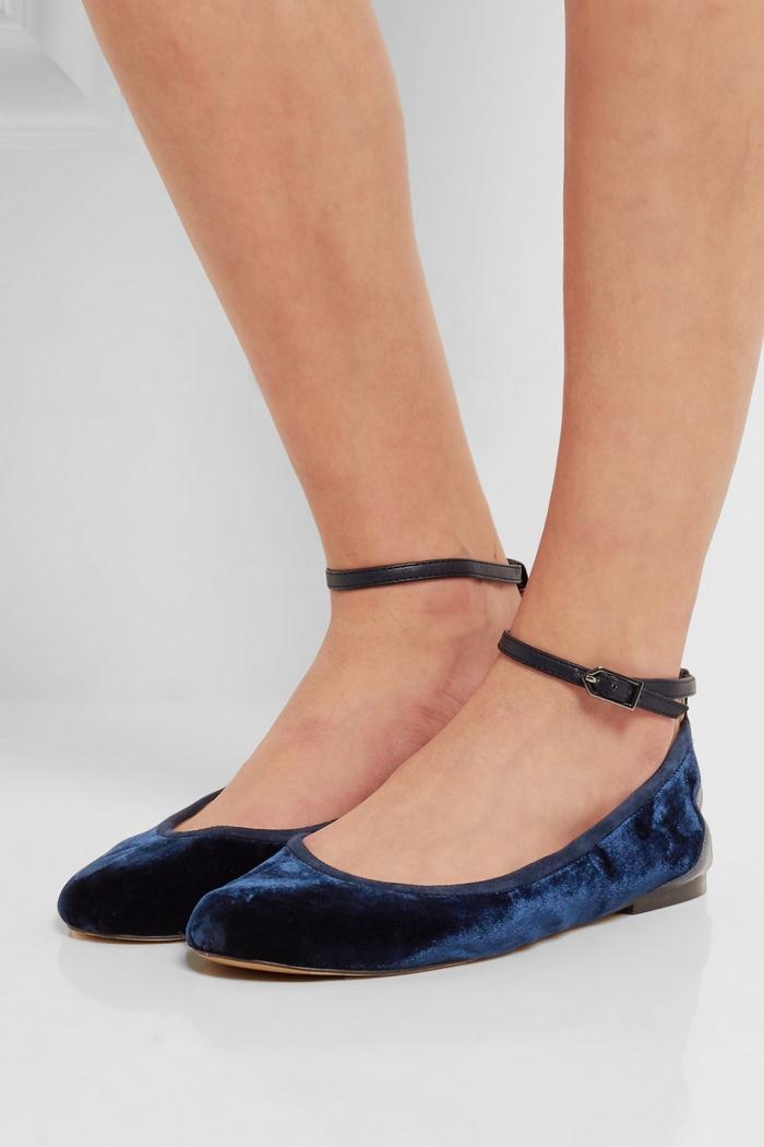 Sam Edelman Velvet Shoes Net A Porter Exclusive Shop