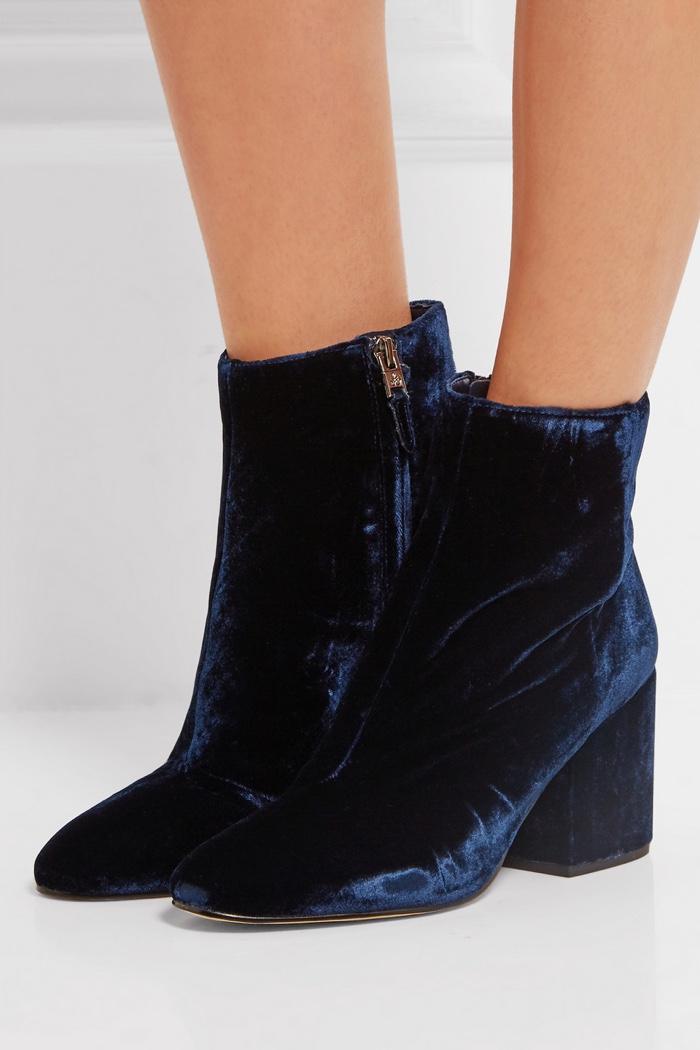 bc9dd7a806dcbf Sam Edelman Susie Velvet Sandals · Sam Edelman Taye Velvet Ankle Boots