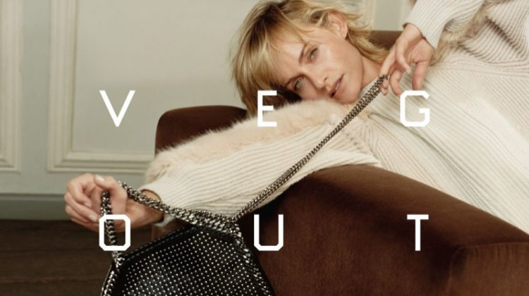 Amber Valletta Lounges in Stella McCartney's Fall Ads