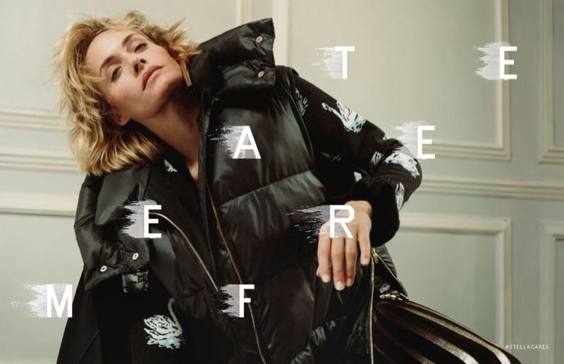 Amber Valletta stars in Stella McCartney's fall-winter 2016 campaign