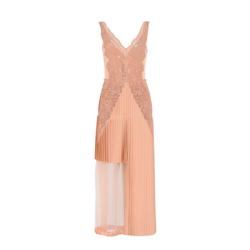 Stella McCartney Peach Marchelle Dress