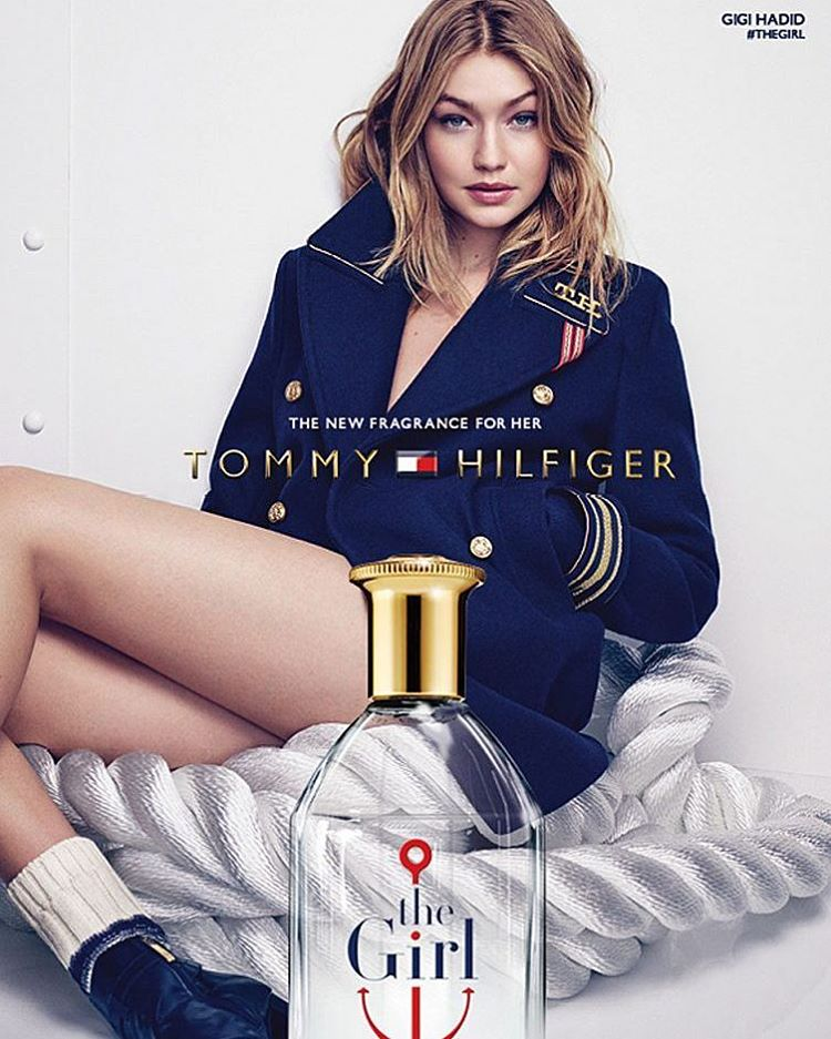 Gigi Hadid Stars in Tommy Hilfiger's 'The Girl' Fragrance Ad