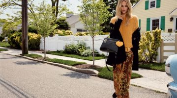 Natasha Poly Goes Suburban for Twin-Set's Fall 2016 Campaign