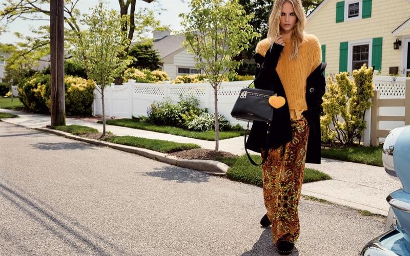 Natasha Poly Goes Suburban for Twin-Set's Fall 2016 Campaign