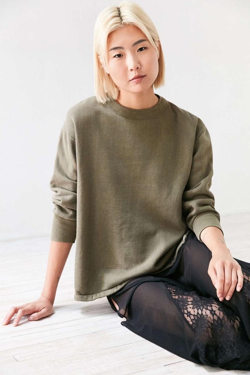 Urban Renewal Recycled French Surplus Sweatshirt