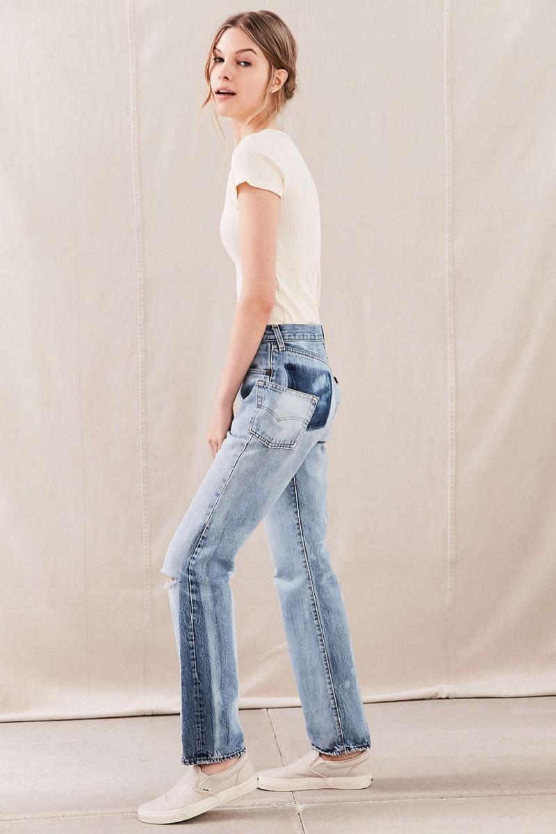 Urban Renewal Remade Pocket Shift Jean