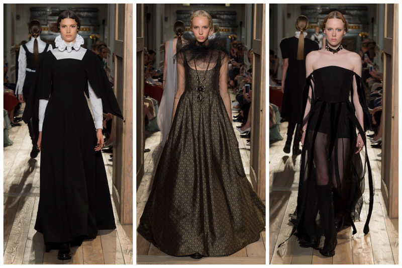 Valentino Goes Shakespearean for Fall Haute Couture