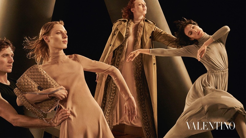 Valentino embraces a ballet theme for fall-winter 2016 campaign