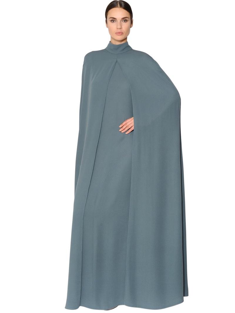 Valentino Silk Georgette Caftan Dress