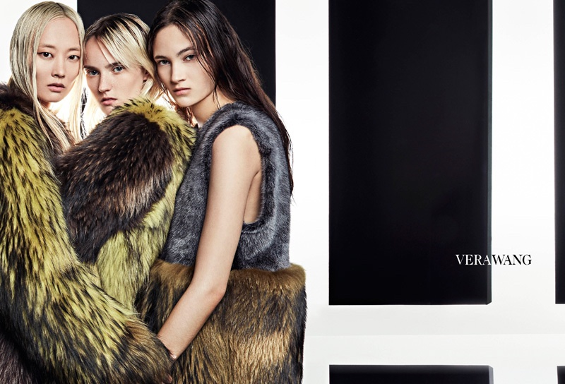 Vera Wang Features Modern Elegance in Fall 2016 Ads