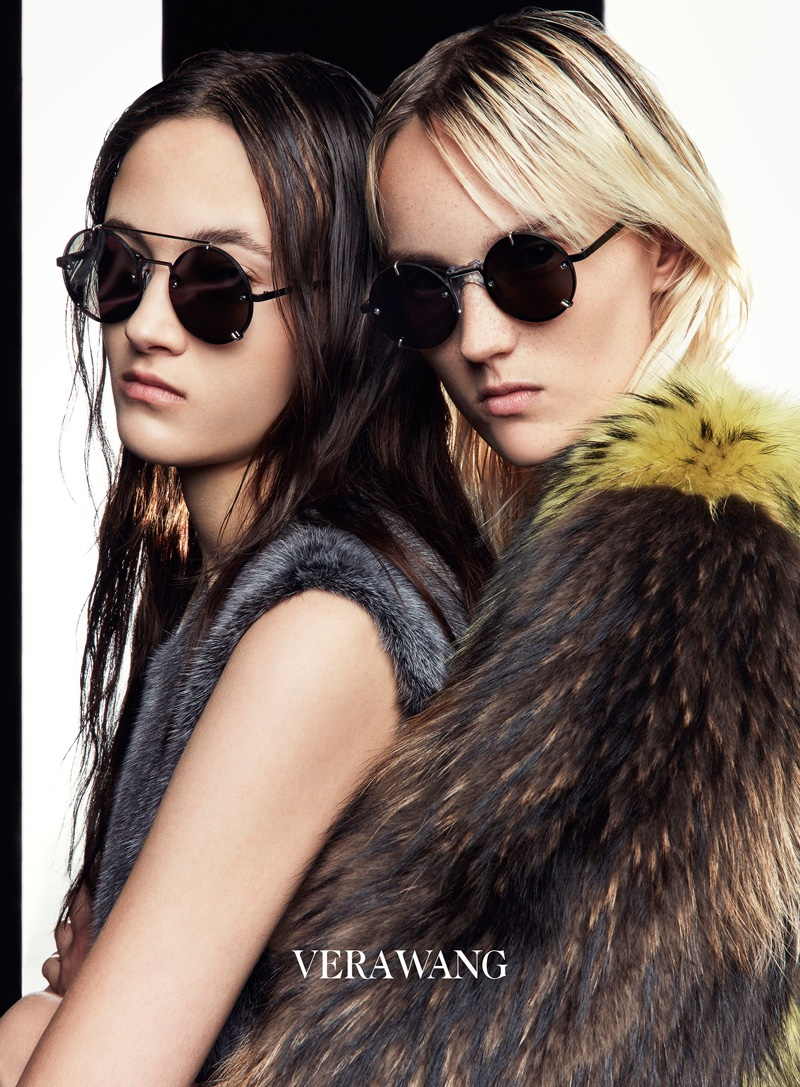 Patrick Demarchelier photographs Vera Wang's fall 2016 advertising campaign