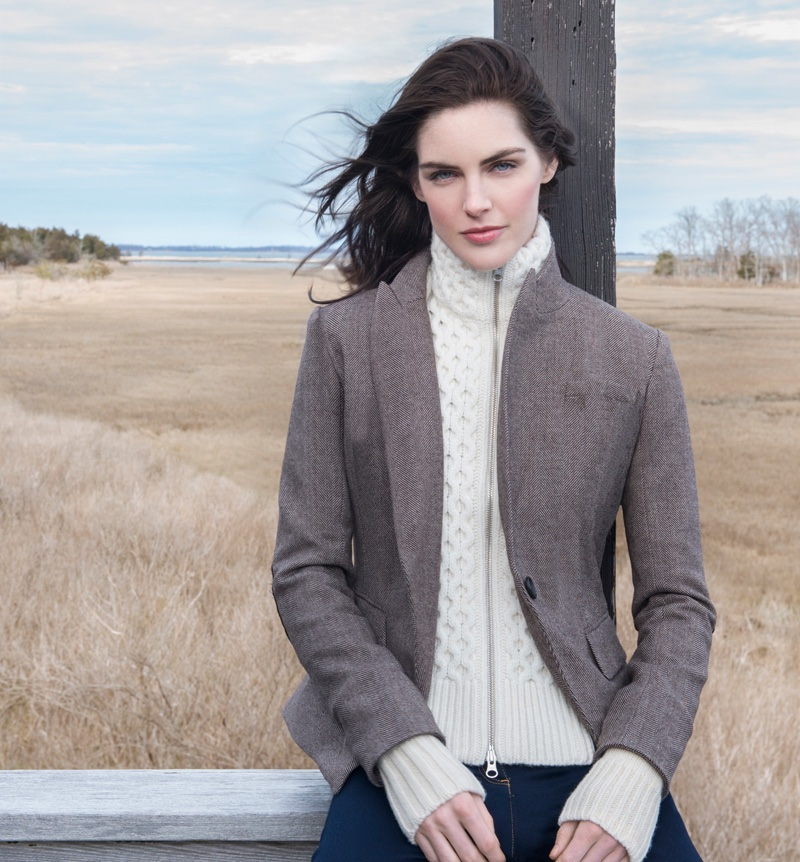 Claiborne Swanson Frank photographs Veronica Beard's fall 2016 campaign