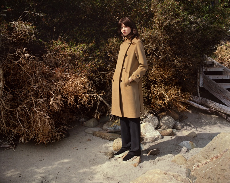 Vince's fall 2016 campaign was photographed on location in Malibu, California