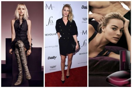 Week in Review | Rosie Huntington-Whiteley's New Cover, Margot Robbie Poses for Calvin Klein + More