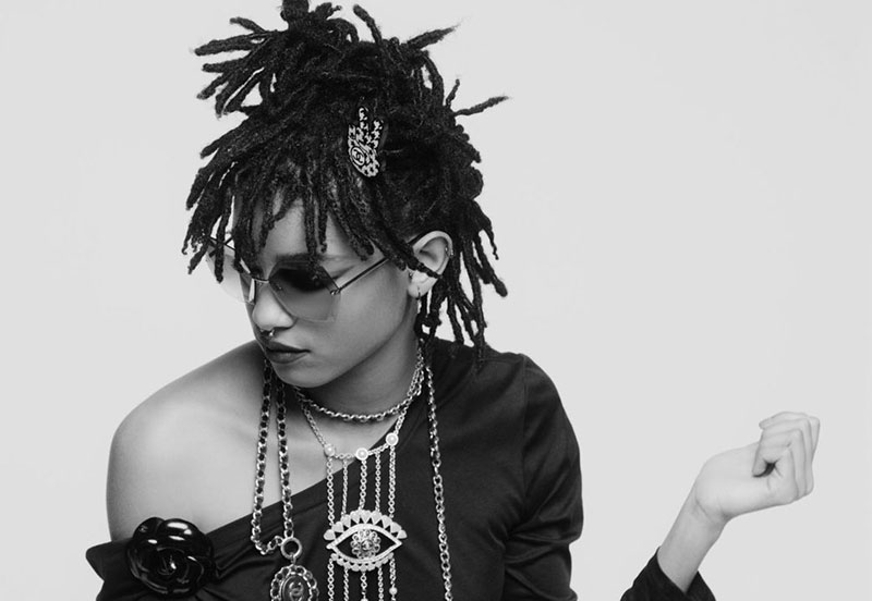 Willow Smith for Chanel Eyewear
