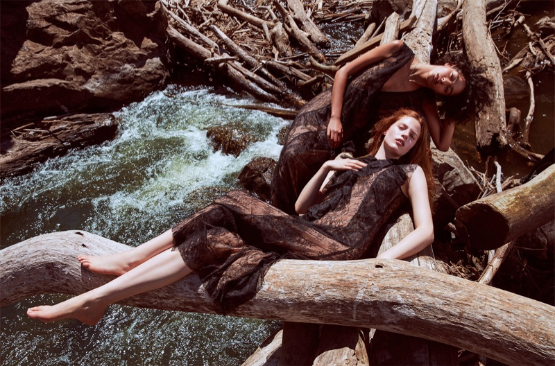 Zara showcases slip dresses in fall-winter 2016 campaign