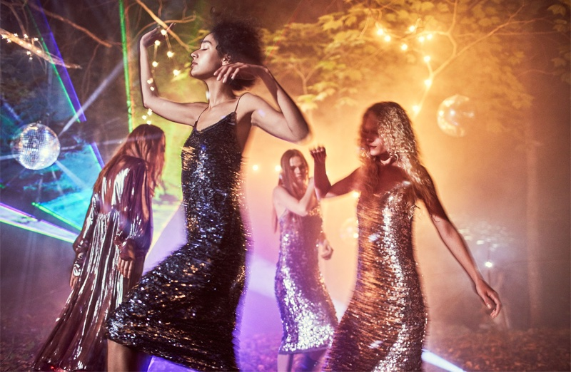 Zara captures a disco scene for fall-winter 2016 campaign