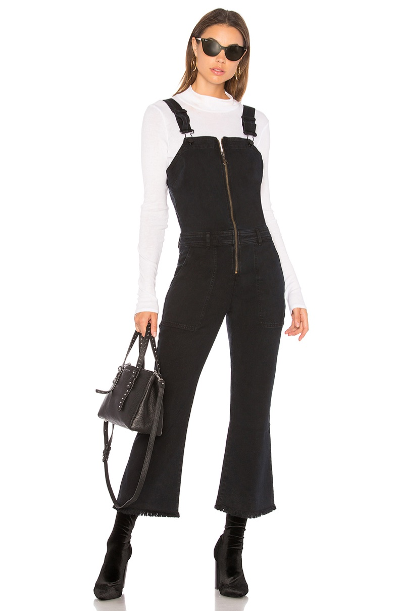 ei8ht dreams Zip Front Crop Flare Overall $224