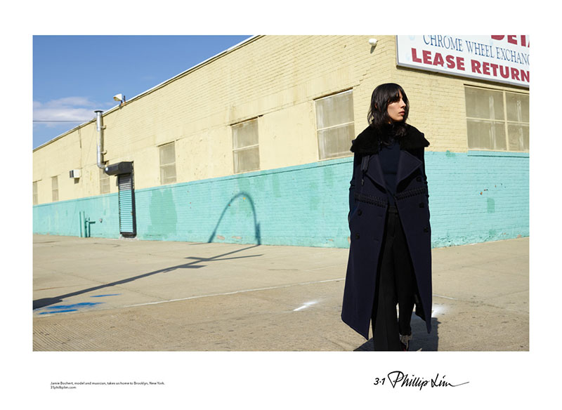 Jamie Bochert Heads to Brooklyn for 3.1 Phillip Lim's Fall Ads