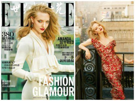 Amanda Seyfried Stuns in Glamorous Looks for ELLE China