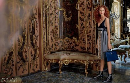 Natalie Westling Poses in Sicily for Americana Manhasset's Fall Campaign