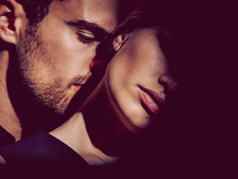 Theo James and Anna Ewers get up close and personal in BOSS the Scent for Her campaign