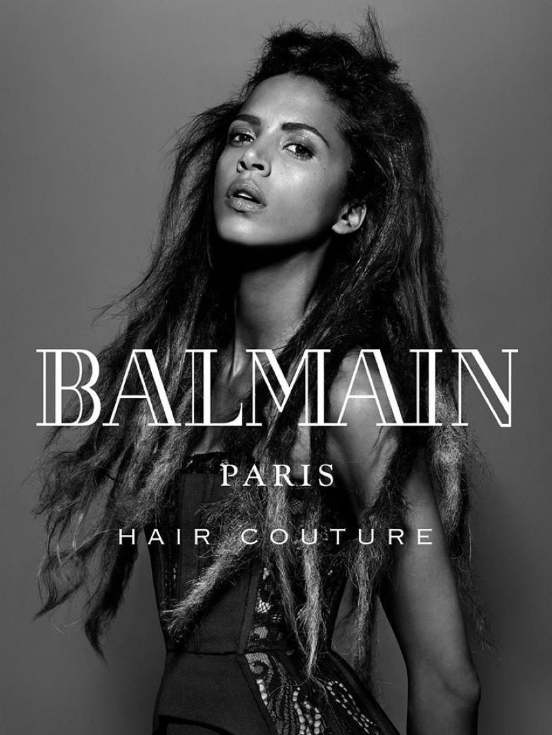 Balmain Hair Couture Winter 2016 Campaign Photos